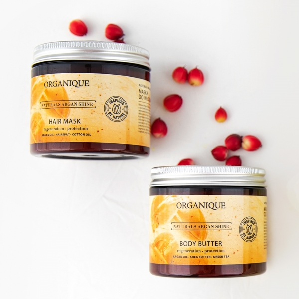 Body Butter Naturals Argan Shine