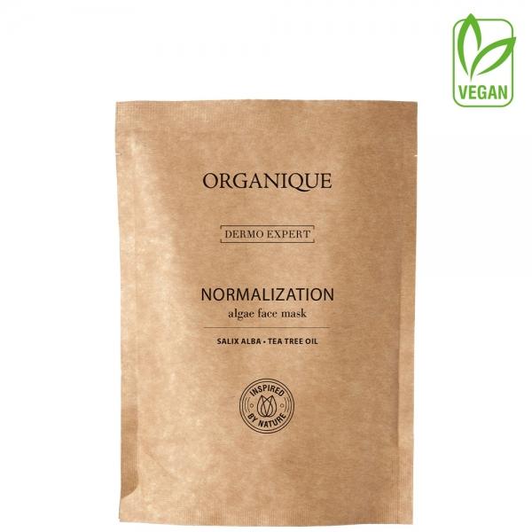Normalizująca maska algowa z olejkeim z drzewa herbacianego